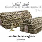 New: Woodland Indian Longhouses