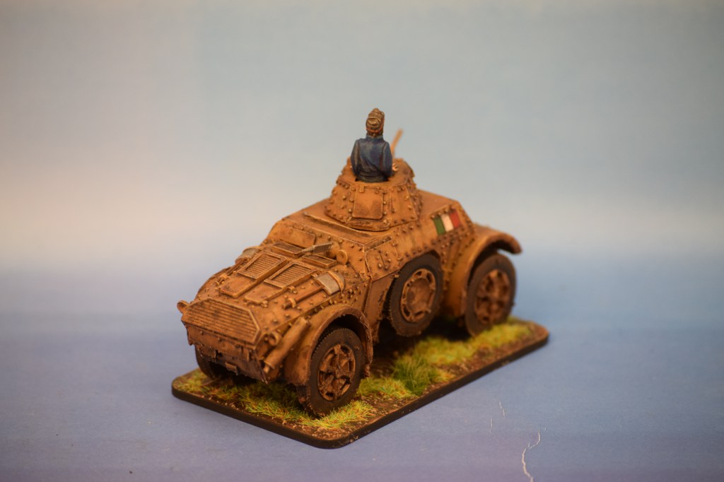Warlord Games Italian AB41 Armoured Car (2)