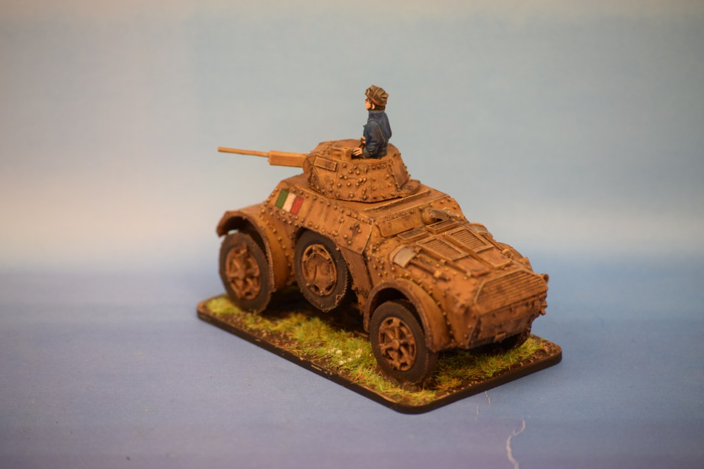 Warlord Games Italian AB41 Armoured Car (3)