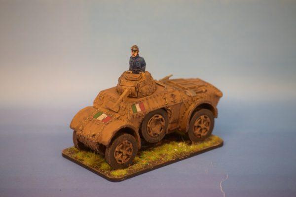 Showcase: Autoblinda AB41 Armoured Car