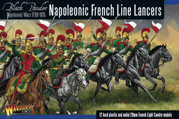 Napoleonic French Line Lancers -  Warlord Games