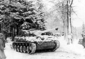 M18 in action Ardennes Dec.1944