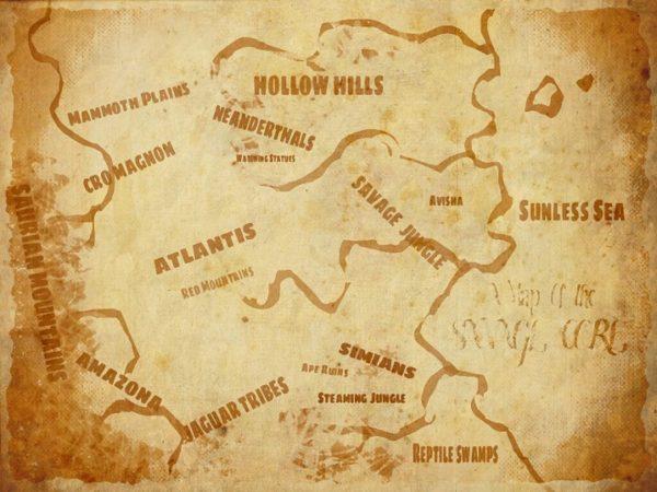 Savage Core Map