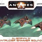 New: Algoryn AI Intruder Scout Skimmer Squad