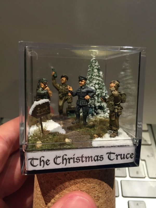 Diorama Competition Americarulz - Christmas Truce1