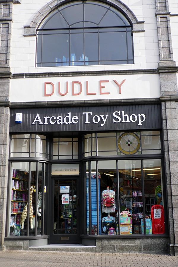 Dudley Arcade toy shop