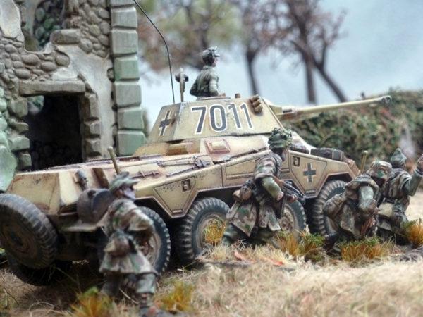 Head to Head: M8 Greyhound Vs Sdkfz 234/2 Puma - Warlord Games