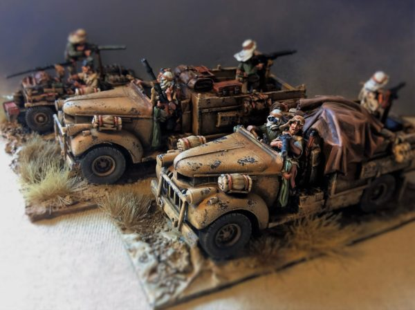 Painting Guide: Long Range Desert Group - Warlord Games