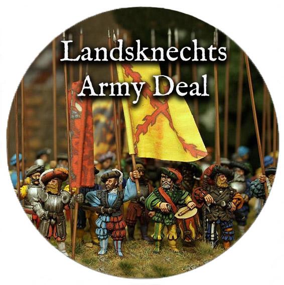 Landsknechts Army Deal