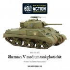 New: Plastic Sherman V