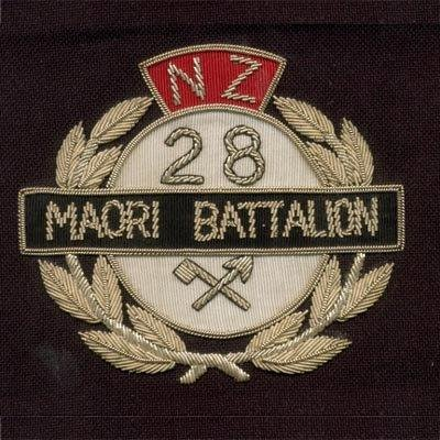 28th Maori badge