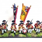 Showcase: Black Powder American War of Independence British army