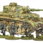 April Armoured Patrol