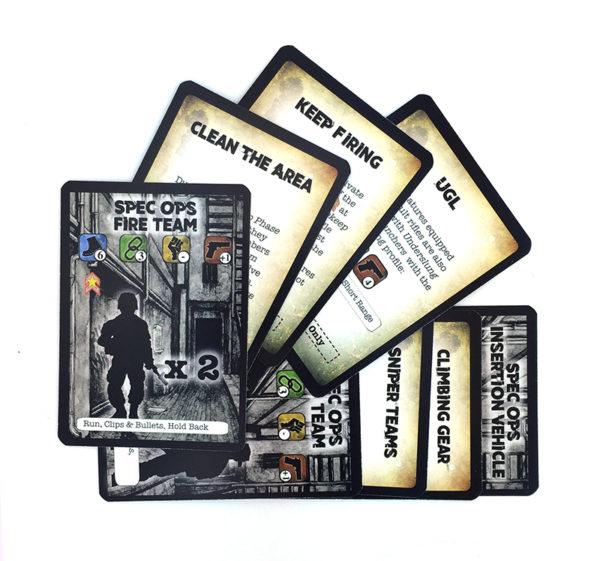 Spec Op Cards Project Z