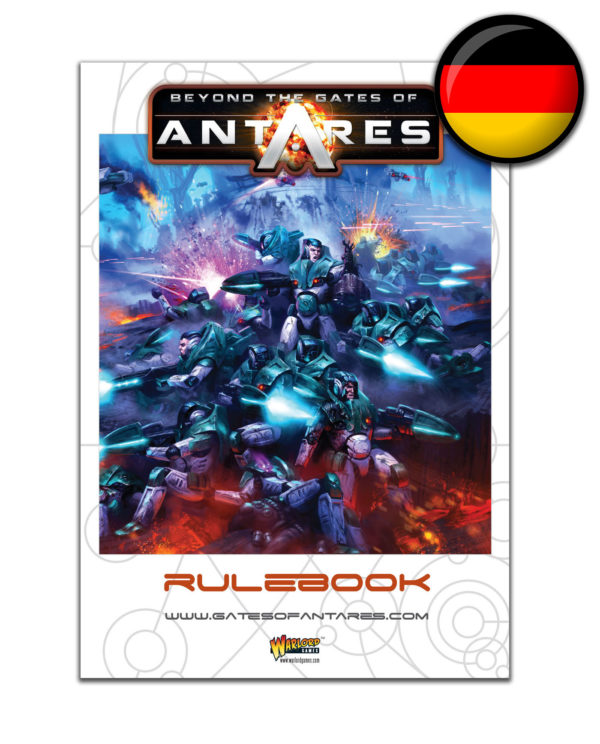WGA-05 Beyond the Gates of Antares Rule Book German