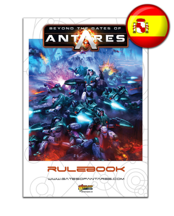 WGA-07 Beyond the Gates of Antares Rule Book Spanish