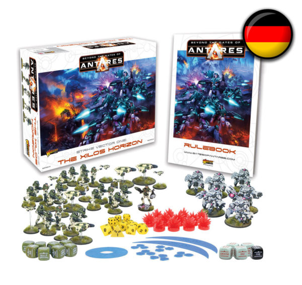 WGA-START-05 Beyond the Gates of Antares starter set Launch Edition German