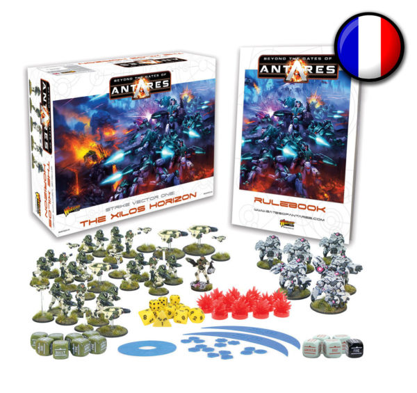 WGA-START-06 Beyond the Gates of Antares starter set Launch Edition French