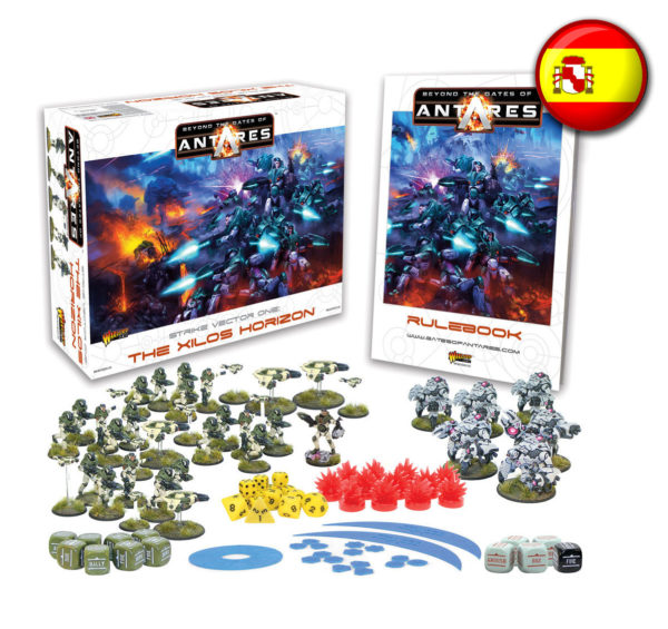 WGA-START-07 Beyond the Gates of Antares starter set Launch Edition Spanish