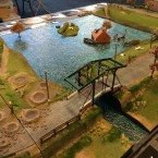 "Showcase: ""Action on the Scheldt"" game table"