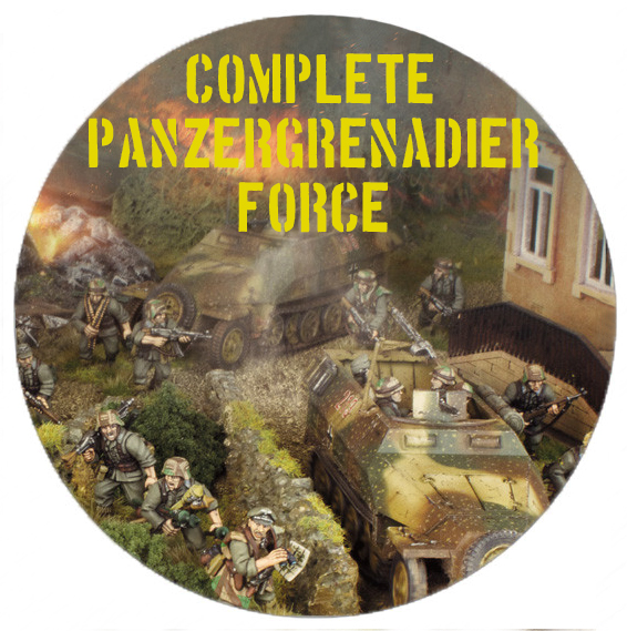 Complete Panzergrenadier Force Army Deal Circle