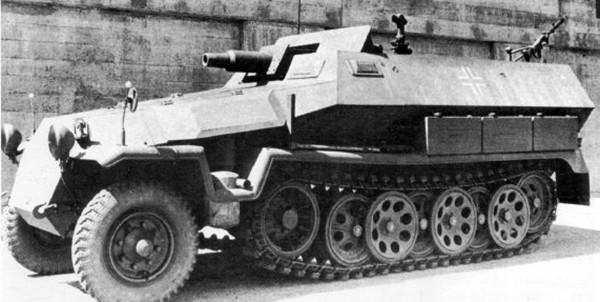 Schützenpanzerwagen (7.5 cm KwK37)b