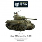 New: Sherman M4 A3E8 'Easy 8' US Tank