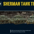 Pre Order: British Sherman V Troop (including Vc Firefly)