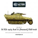 New: Sd.Kfz. 251/9 – Stummel