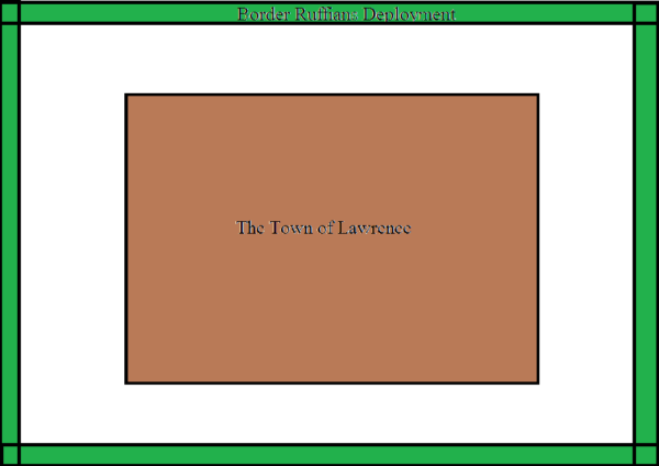the town of lawrence map