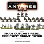 509915001 Ghar Outcast Rebel 500 Point Acout Force