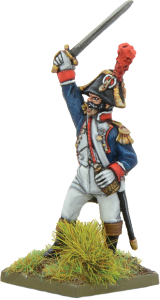 French Officer Waterloo