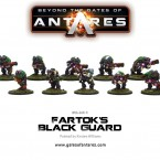 New: Fartok's Black Guard & Ghar Outcast Rebel 500 pt. Scout Force