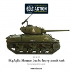 New: M4A3E2 Sherman Jumbo heavy assault tank