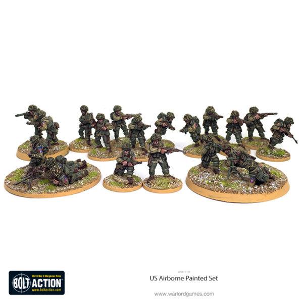 409813101 US Airborne 20 Fig Painted Set