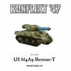 New: KF'47 M4A9-T Sherman with Tesla Cannon