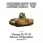 New: KF'47 German Pz IV-X
