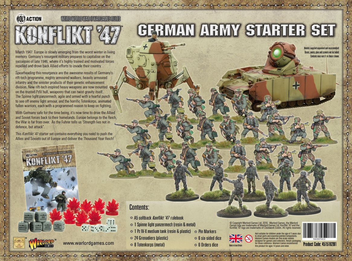 View the German KF'47 Starter in Store