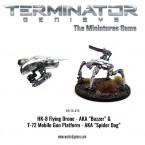 New: Terminator Buzzer and Spider Dog plus new scenario!