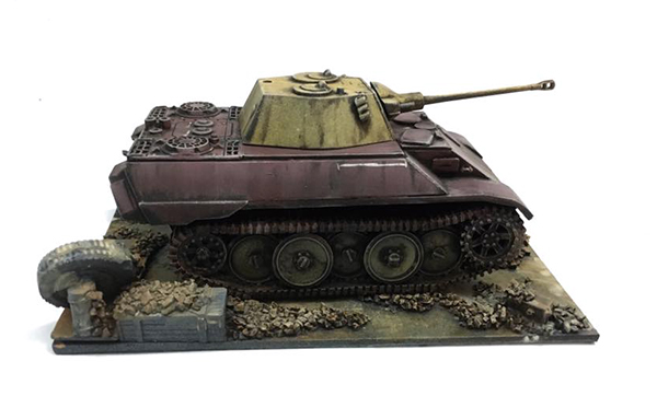 Conversion Workshop: The VK1602 Leopard by Jakob Lotz - Warlord Games