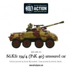 New: Sd.Kfz 234/4 (PaK 40) armoured car