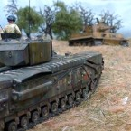 Tiger Hunt! Tank scenario for Bolt Action