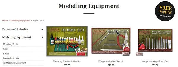modelling-equipment-banner