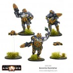 New: Boromite Rockfather and Borer Drones