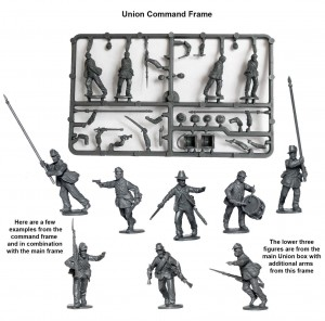 union-command-frame_american-civil-war-union-infantry-in-sack-coats-skirmishing-1861-65