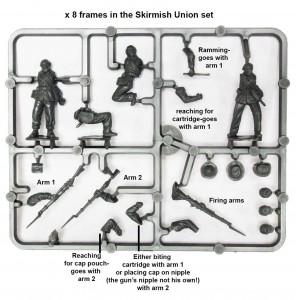 skirmish-frame-for-skirmish-box_american-civil-war-union-infantry-in-sack-coats-skirmishing-1861-65