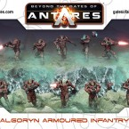 New: Algoryn Armoured Infantry Plastic Box Set