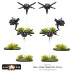 New: Ghar Outcast Rebels Quad Mag repeater & Mag Cannon teams plus Flitter Bombs