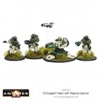 New: Concord C3 Support team with plasma cannon