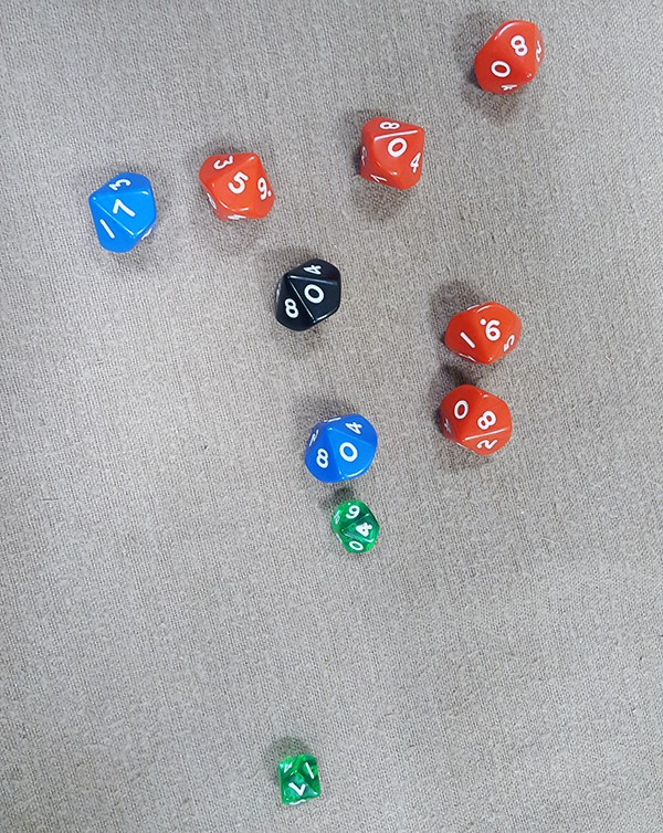 dice-bashing